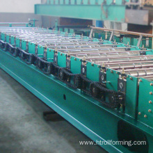 Factory OEM building material metal sheet 760 roof making machine